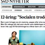 Artikel i Svenska Dagbladet
