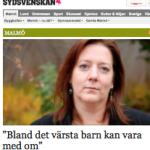 Intervju i Sydsvenskan med Åsa Landberg